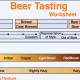 Free Beer Tasting Worksheet!