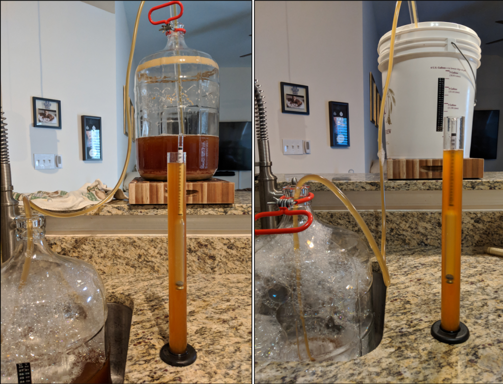 Experiment! Primary in Plastic Fermenter vs. Glass-Only Fermentation
