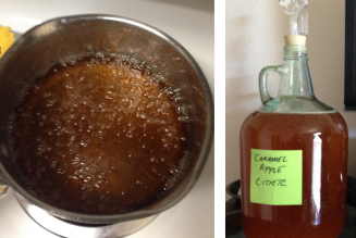 Homebrew Fail: John's Caramel Apple Death Liquor
