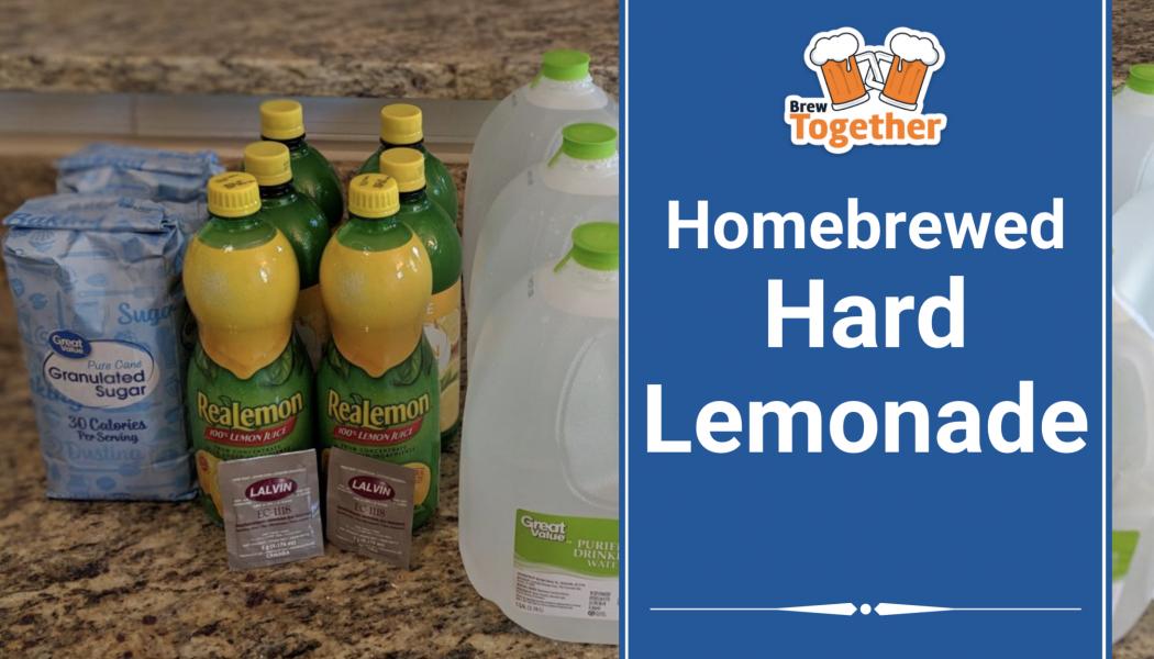 Homebrewed Hard Lemonade