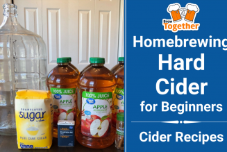 Homebrewing Hard Cider for Beginners + Cider Recipes