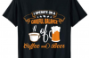 I Operate on a Careful Balance of Coffee and Beer T-Shirt