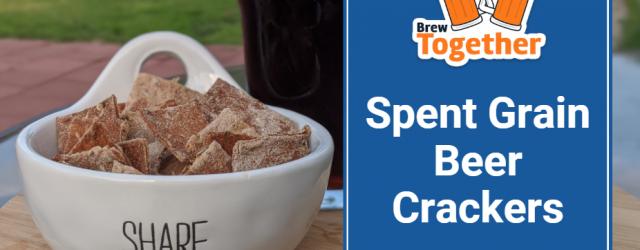 Spent Grain Beer Crackers Recipe
