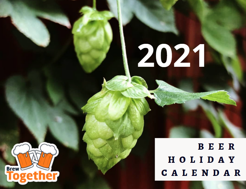 Image of the cover of the 2021 BrewTogether Beer Holiday Calendar